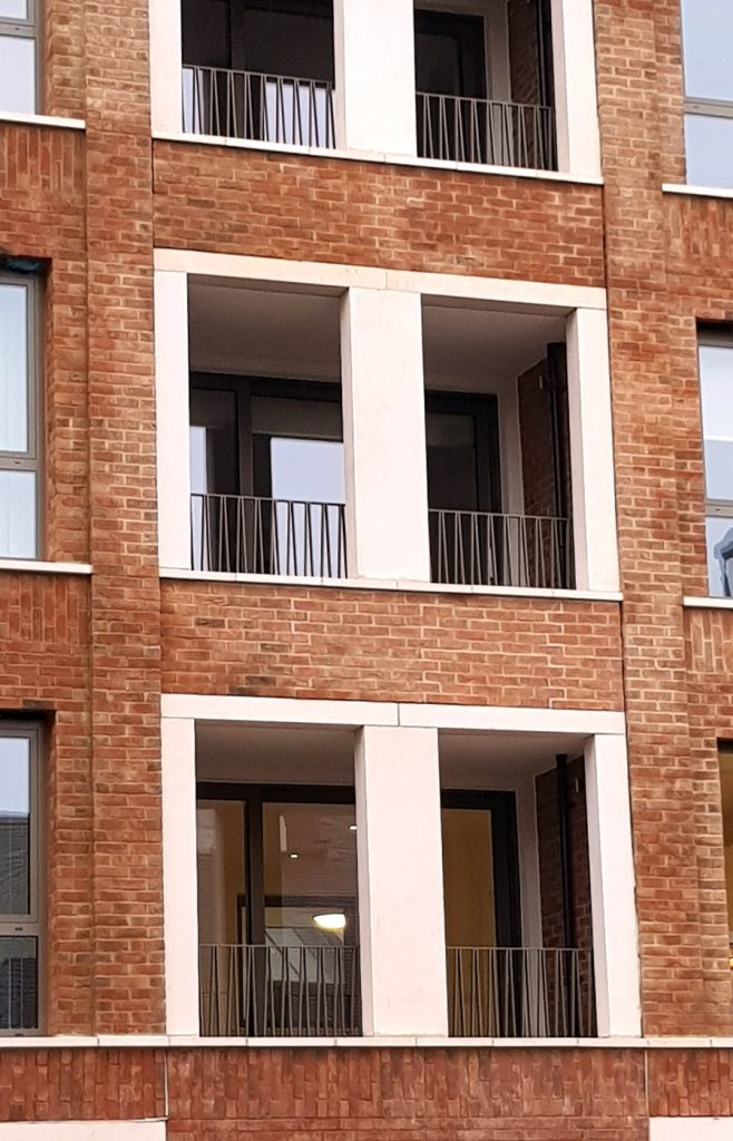 London Square Project - Steel Balconies