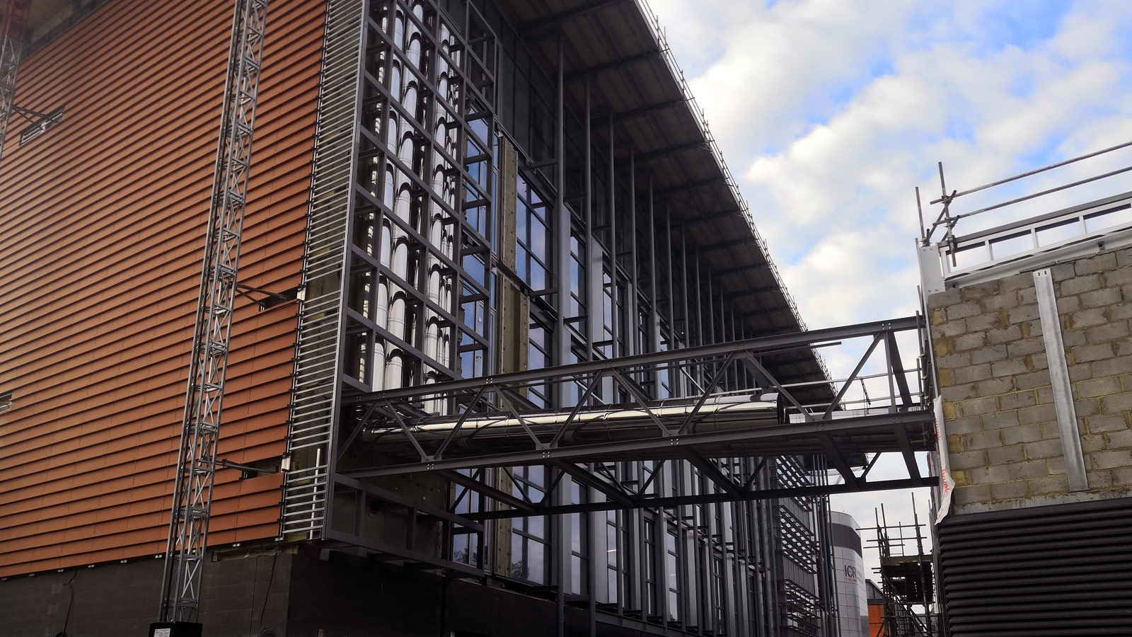 Cancer Research Centre Nears Completion